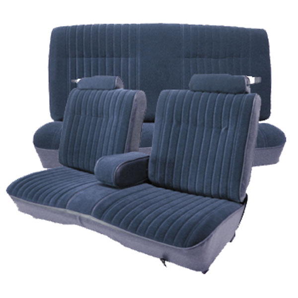 All You Need To Re Your Worn And Faded 81 88 Monte Carlo Ss Split Bench Seats Listed Price Includes Covers For Straight With 50 Back