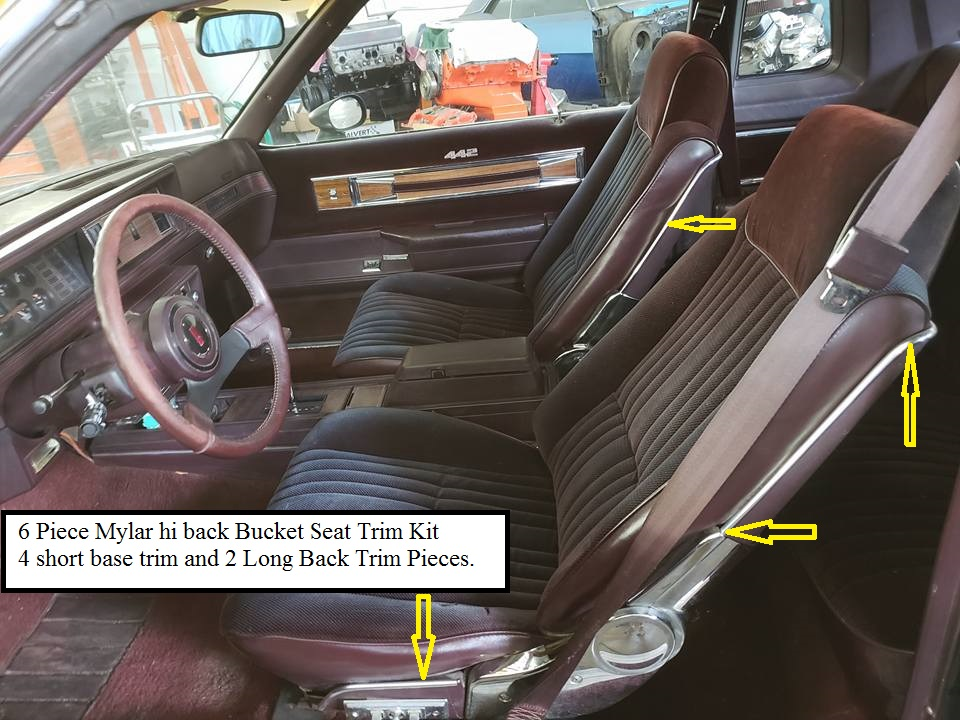 1978 el camino bucket seats