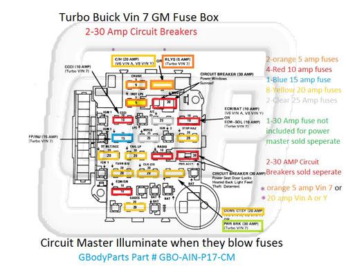 Buick Grand National Fuse Box Wiring Diagram. Gbodyparts Online Wiringdiagram 1987 Buick Grand National Fuse Box. Buick. 1987 Buick Grand National Wiring At Scoala.co